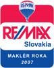 Maklér roka 2007 - RE/MAX Slovakia