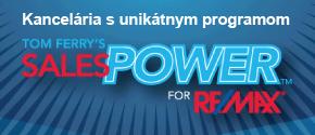 Kancelária s unikátnym programom SALES POWER